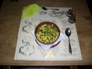 Curry-Kartoffel-Eintopf
