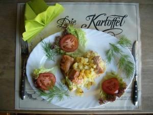 Fisch-Kartoffelauflauf