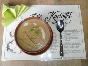Kartoffel-Pfifferling-Suppe
