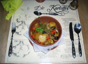 Kräuter-Kartoffelpfanne