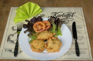 Zucchini-in-Kaeseteig