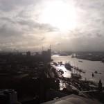 Hafen Hamburg am Morgen