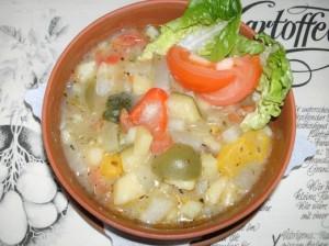 Gemuese-Kartoffel-Ragout
