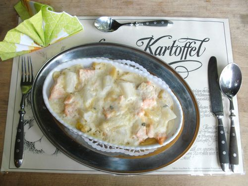 spargel gratin mit lachs heidefarmen blog. Black Bedroom Furniture Sets. Home Design Ideas