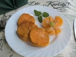 Aromatische Süßkartoffeln