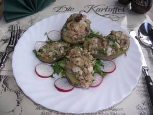 gebackene Thunfischkartoffeln