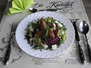 Kartoffelsalat mit Rote Bete
