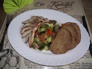 Meditarraner Salat