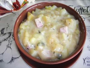 Steckrüben-Kartoffelgulasch