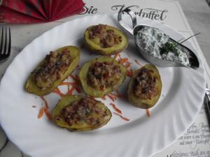 Peruanische Ofenkartoffeln