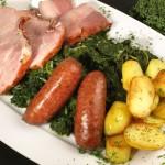 Grünkohl mit Kartoffeln