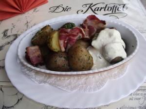 Salat aus Grillkartoffeln