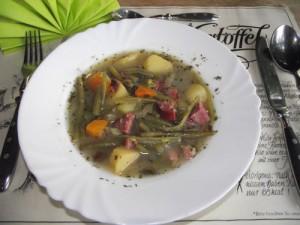 Grüne Bohnen-Suppe
