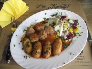 Kräuter-Kroketten