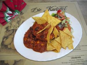 """Gefüllte Paprika mit """"Chili con Carne"""""""