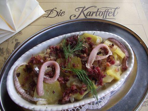 gefächerte kartoffeln aus dem ofen