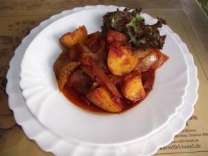 Andalusische Kartoffeln