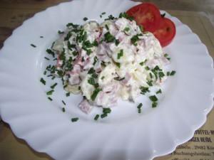 Kartoffelsalat mit Kaiserfleisch