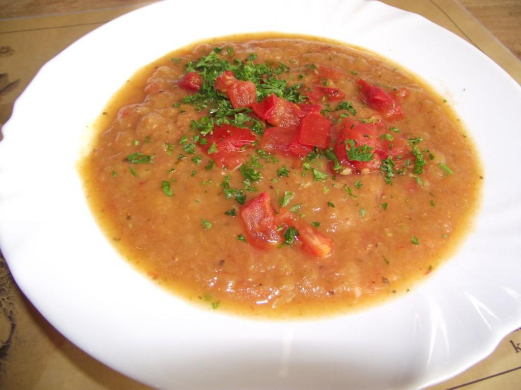 Tomaten-Kartoffelsuppe