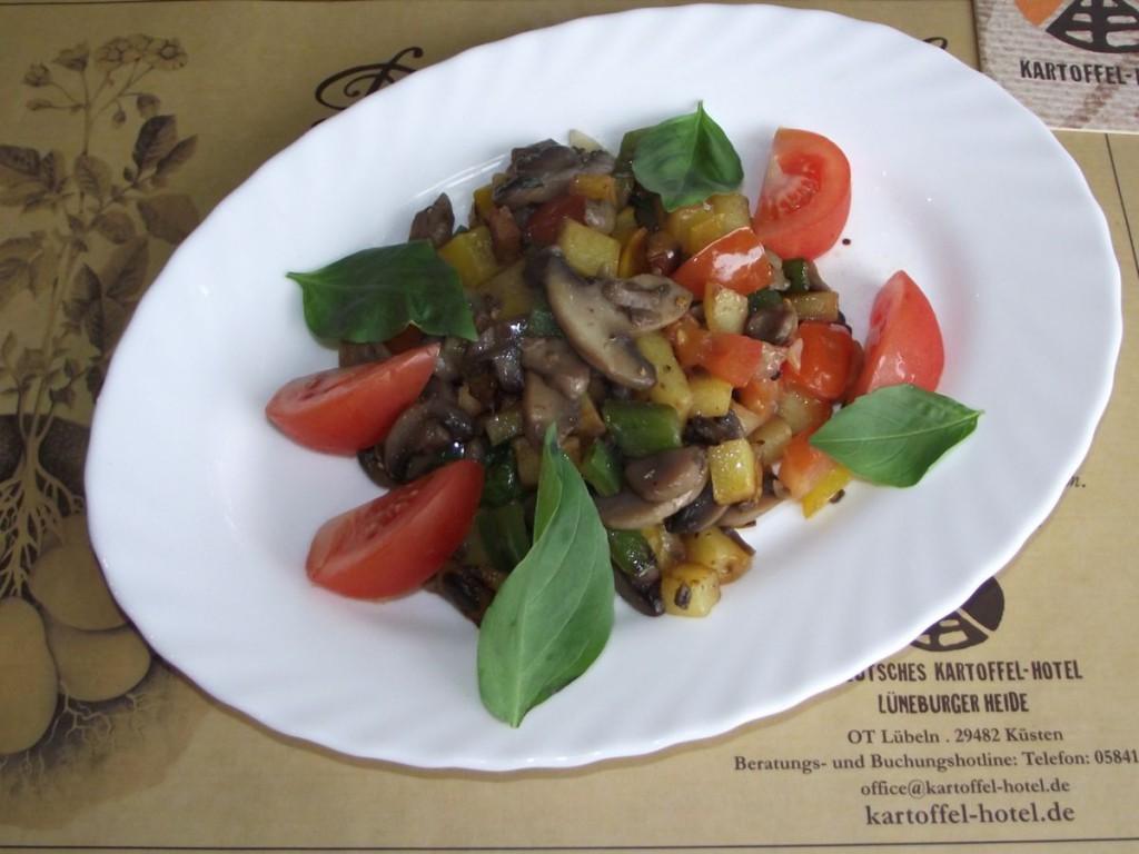 Champignon-Paprika-Haschee