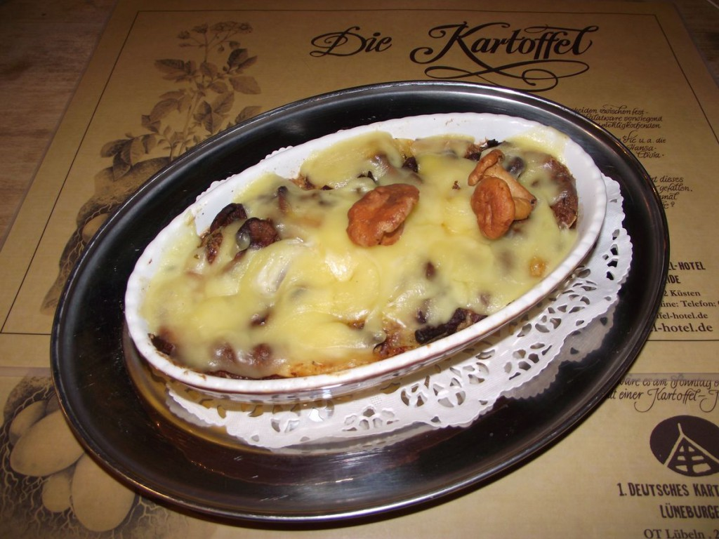 Hamburger Püree-Kuchen