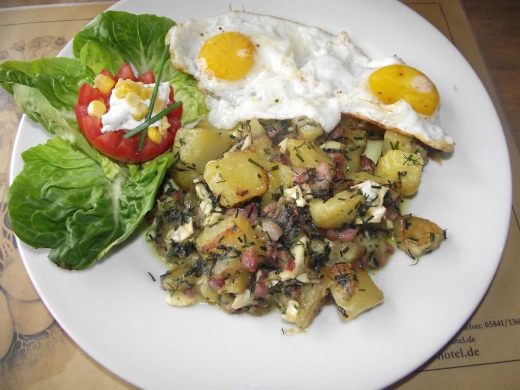 Kartoffel-Kräuter-Gratinè