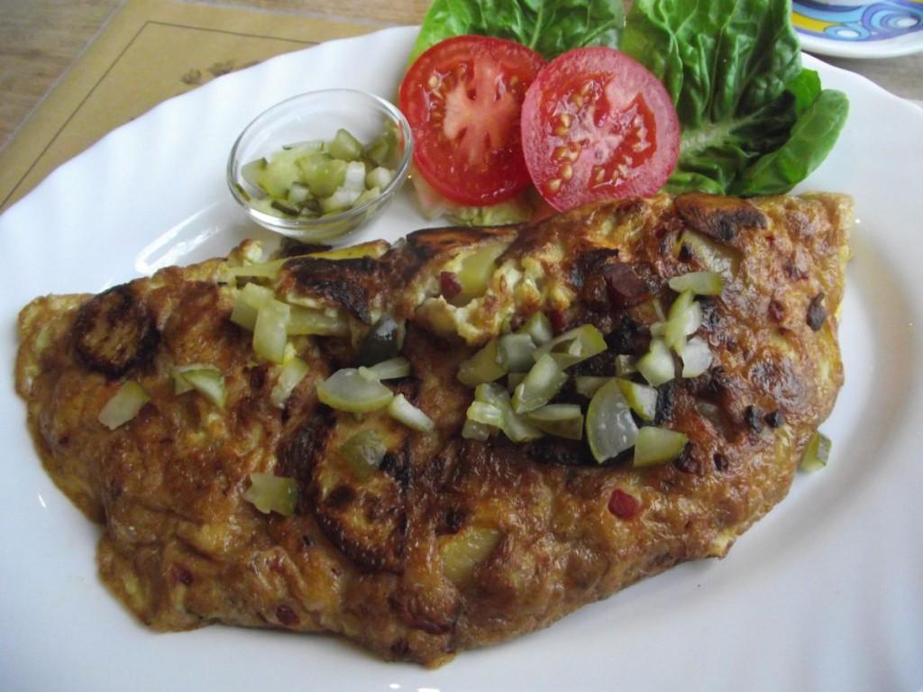 Schinken-Omelett