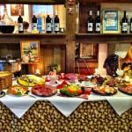 Frühstücksbüffet im Kartoffel-Hotel