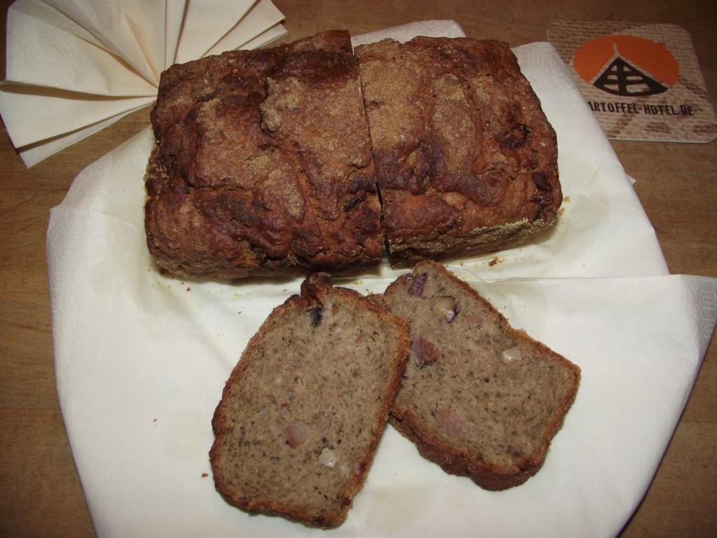 Kartoffel-Speck-Brot
