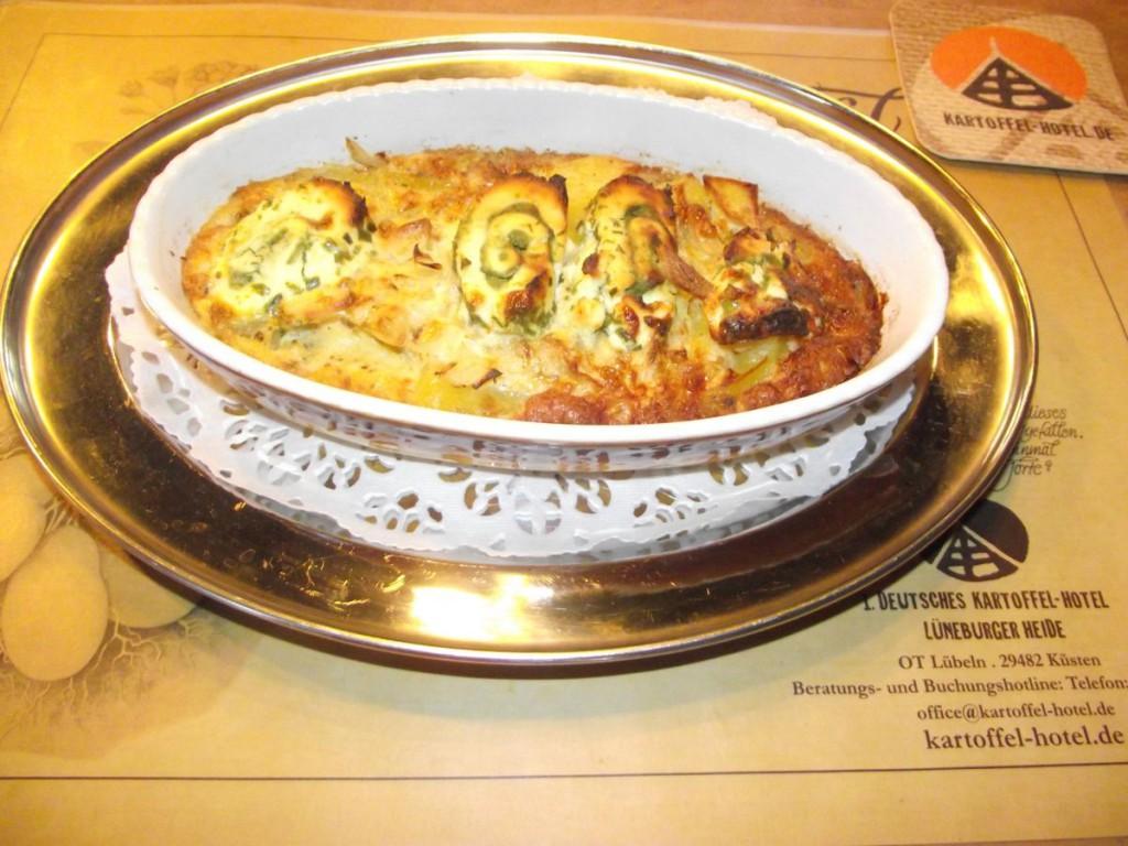 Kartoffel-Käse-Kasserolle