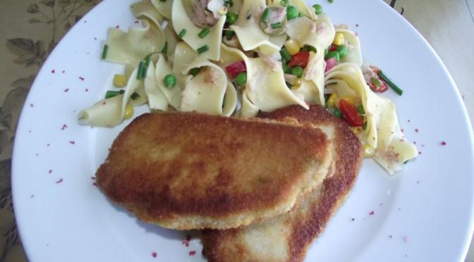 Nudelsalat aus Kartoffelnudeln
