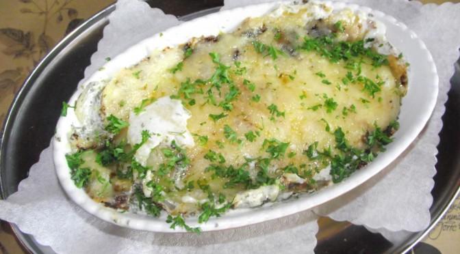 Kartoffelgratin mit Käsekruste