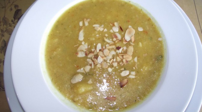 Scharfe Zucchini-Kartoffel-Suppe