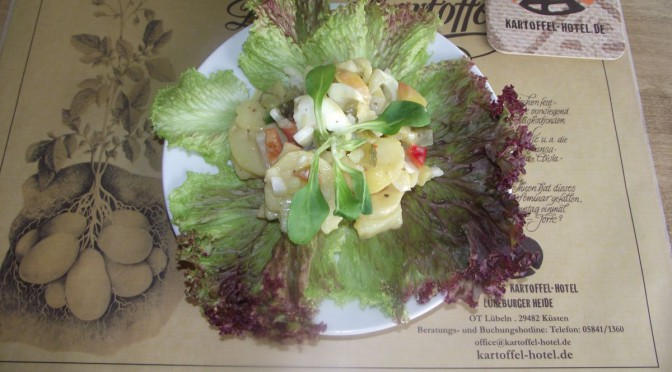 Apfel-Kartoffel-Salat