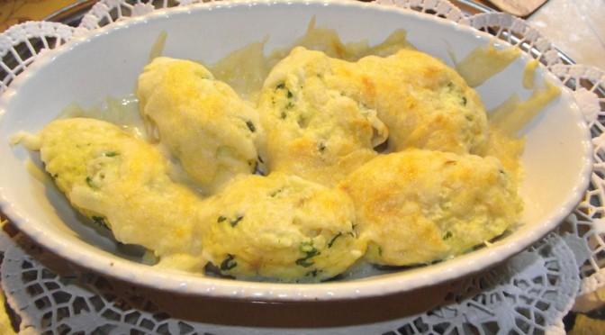 Kartoffelnockerl mit Kräutern