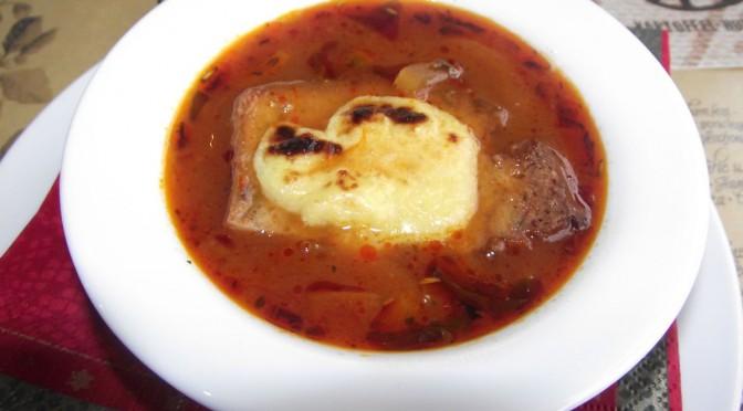 Weimarer Zwiebelsuppe