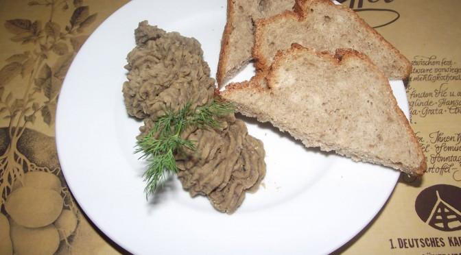 Vegetarischer Leberwurst-Aufstrich