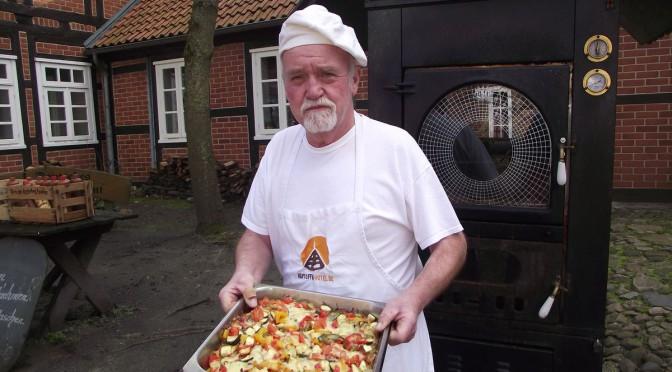 vegartische Kartoffelpizza