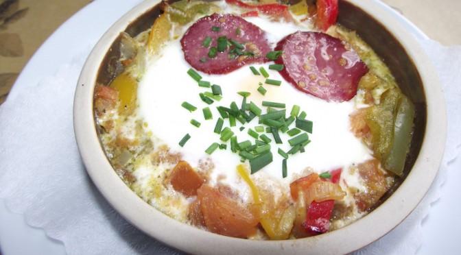 Chili-Tomaten-Eier