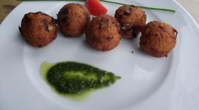 Kartoffel-Porreebällchen