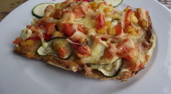 "Kartoffelpizza ""Vegetale"""