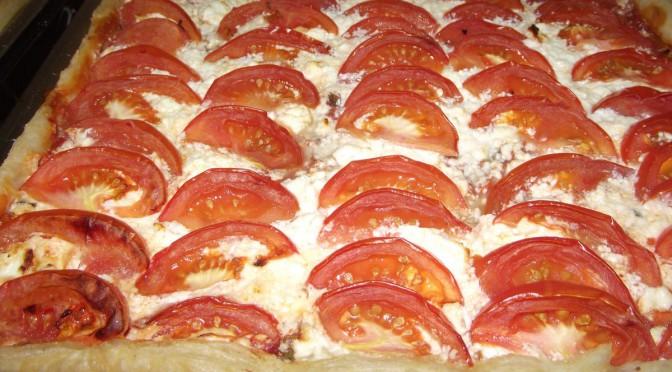 Tomaten-Feta-Tarte