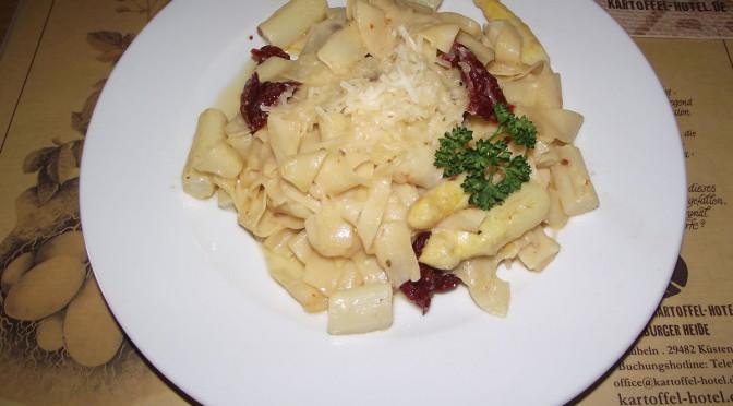 Spargel-Pasta