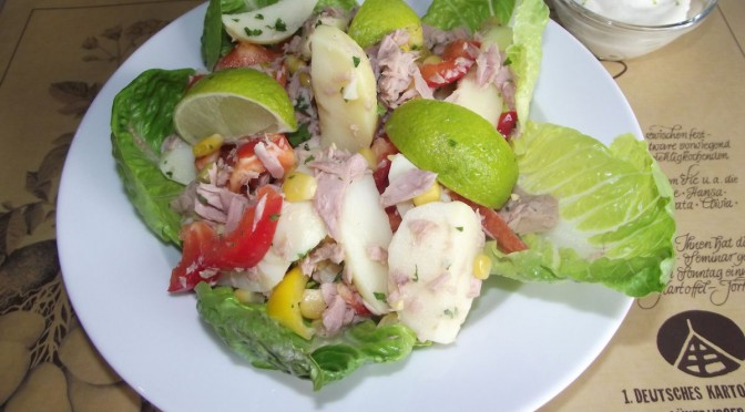 Kartoffel-Thunfisch-Salat