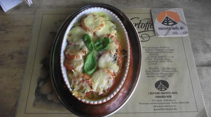 Kartoffel-Tomaten-Auflauf mit Basilikum