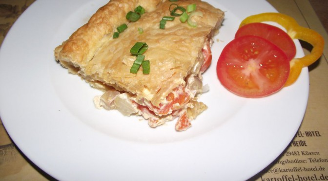 Kohlrabi-Pie