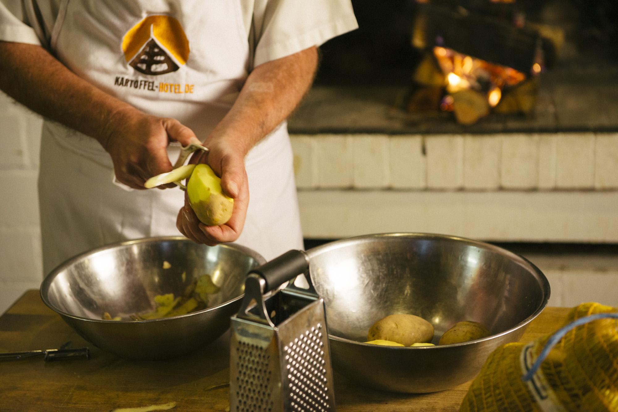 Leckere Kartoffelküche