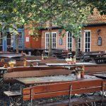 Biergarten in Lübeln