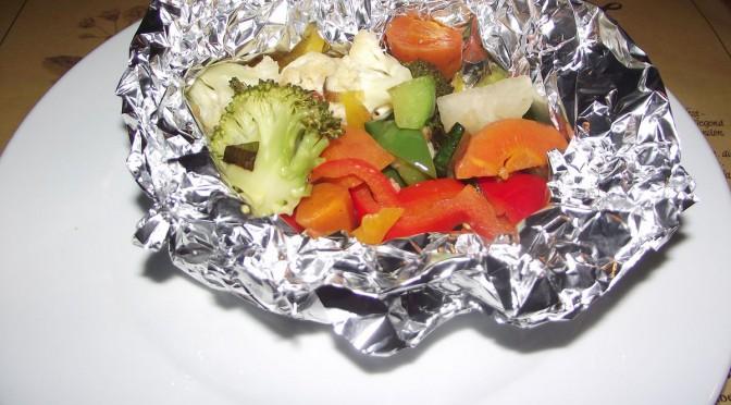 Gemüsepäckchen