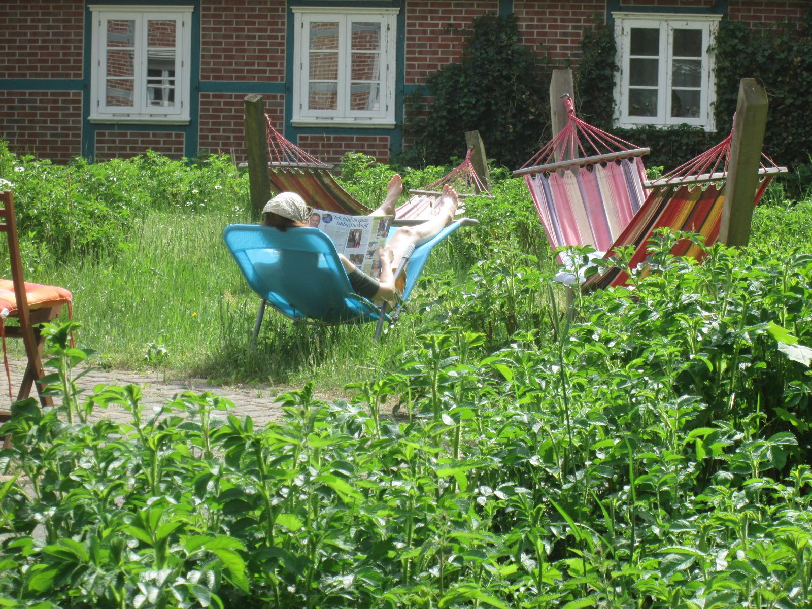 Relaxen im Grünen